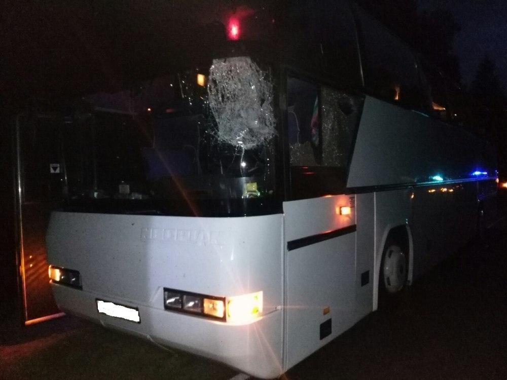 Один умер и9 пассажиров автобуса пострадали вДТП накалужской трассе