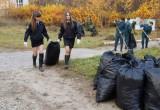 Калужская молодежь провела уборку территорий воинских захоронений