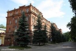 Бывшее Управление Сызрано-Вяземской железной дороги (КНИИТМУ)