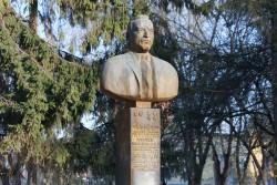 Бронзовый бюст П.А. Воронина