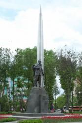 Памятник К.Э.Циолковскому