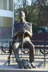 Скульпутра ветерана Великой Отечественной войны