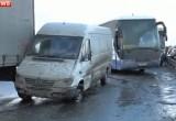 Видео массовой аварии в Калужской области