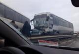 """Под Калугой на трассе """"Украина"""" столкнулись 19 машин Видео"""