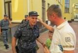 В Калуге встретили полицейских, вернувшихся из длительной командировки
