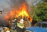 В Ромодановских двориках в Калуге сгорел дом