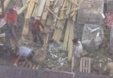 В центре Калуги мигранты режут баранов