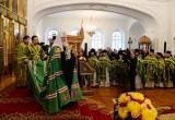 Патриарх Кирилл провел божественную литургию в Шамордино