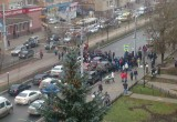 Дальнобойщики блокировали движение транспорта в Калуге