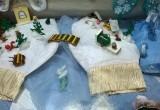 В Калуге открылась выставка новогодних поделок «Подарки Деду Морозу и Снегурочке»