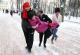 В калужском парке прошел городской фестиваль «Новогодний маскарад»