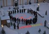 Калужане выступили против абортов массовым флешмобом