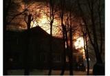 В еще одном расселенном доме Калуги вспыхнул пожар
