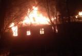 Расселенный дом на Луначарского загорелся второй раз за месяц