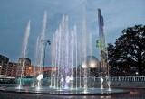 В Калуге запустили первый фонтан