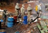 В Калуге срочно ликвидируют разлив опасных химических отходов