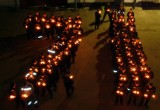 Заключенные устроили флэш-моб в честь Дня Победы
