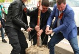 Министр финансов России посадил дерево на «Аллее калужан»