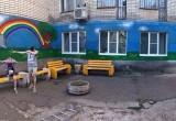 Уличный художник сделал подарок жителям дома престарелых