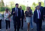 Гимнастка Светлана Хоркина осмотрела спортивные объекты Обнинска