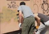 Градоначальник приказал закрасить надписи на фасадах зданий