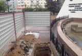 Из фонтана на площади Победы вновь слили воду