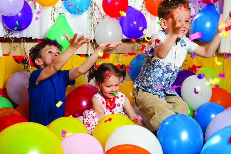 Конкурсы на день рождения для детей командами