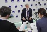 Артамонов пообещал построить Дворец спорта, несмотря на кризис
