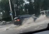 Потоп в Калуге после ливня. Подборка видео и фото