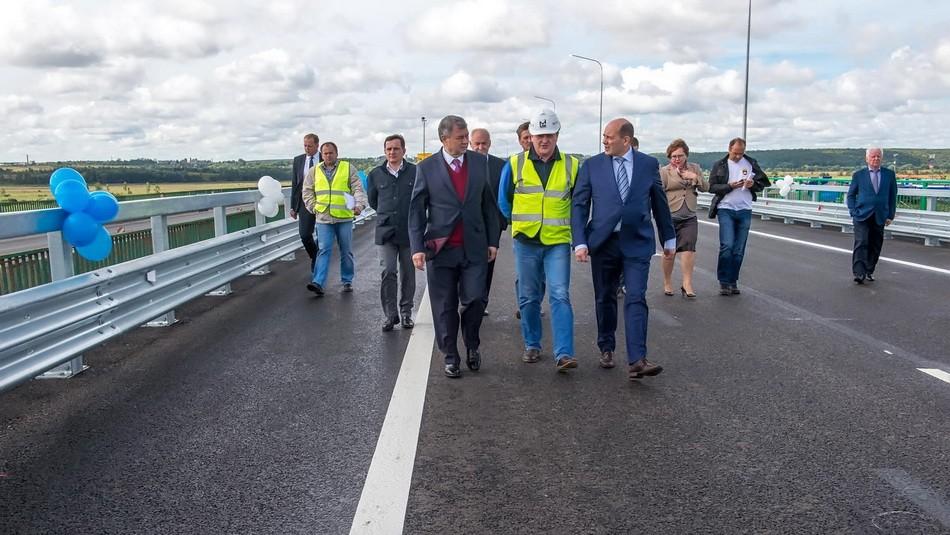 Реконструированный участок дороги «Украина» открылся вКалужской области