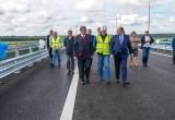 В Калуге открыли движение по новому мосту через Угру