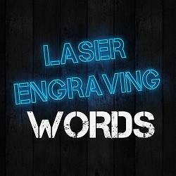 LE-Words, изготовление именных подарков и продукции, лазерная гравировка