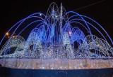 На зиму воду в калужских фонтанах заменят иллюминацией