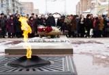 В Калуге на площади Победы прошла акция памяти. Фото