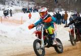 В Обнинске прошли традиционные зимние мотогонки. Фото