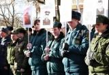 Калужане вышли на улицы с портретами погибших воинов-интернационалистов
