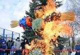 На площади Маяковского проводили зиму! Фото