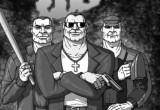 Трое бандитов задержаны за вымогательство денег