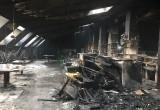 """Последствия пожара в """"Пентхаусе"""". Фото"""