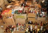 В калужском гараже нашли ящики с подозрительным алкоголем