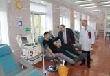 Почти семь тысяч жителей области стали донорами крови в прошлом году