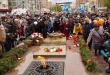 В Калуге прошел торжественный митинг, посвященный Дню Великой Победы. Фотографии