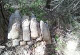 Авиабомбу, артиллерийские снаряды и мины нашли деревенские жители!