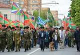 В Калуге прошел парад в День пограничника. Фото