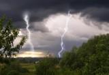 Синоптики предупреждают о сильном ветре и грозе!