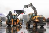 В Калуге приостановлено производство экскаваторов Volvo