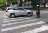 Водитель внедорожника сбил женщину в Калуге!