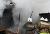Баня сгорела в Калужской области