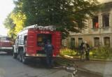 Историческое здание на улице Кутузова сгорело дотла