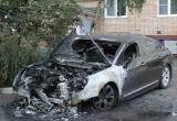 В центре Калуги дотла сгорел автомобиль